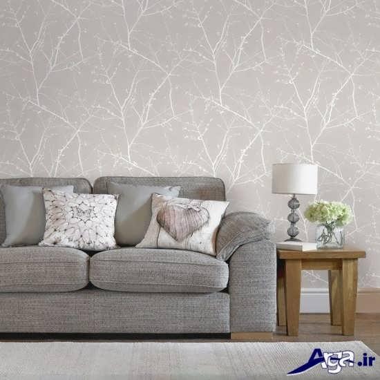 مدل کاغذ دیواری مدرن و جدید برای اتاق پذیرایی و اتاق خواب