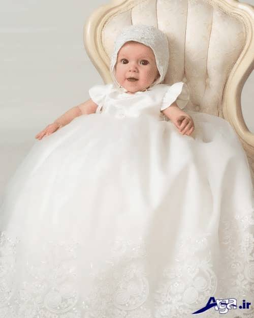 مدل لباس عروس نوزاد