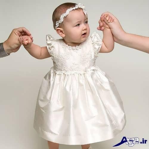 مدل لباس عروس ساده نوزادی