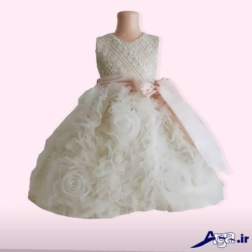 لباس عروس پرنسسی نوزادی