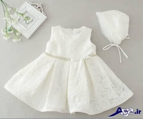 مدل لباس عروس نوزادی شیک