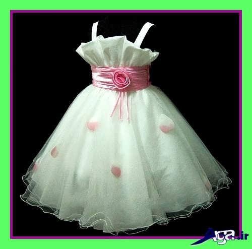 لباس عروس کار شده نوزادی