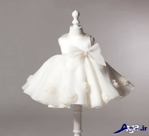 لباس عروس کوتاه نوزادی