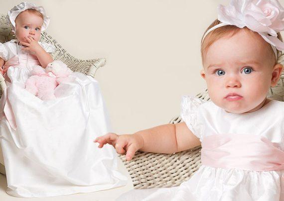 مدل لباس عروس نوزادی با جدیدترین طرح های مد سال