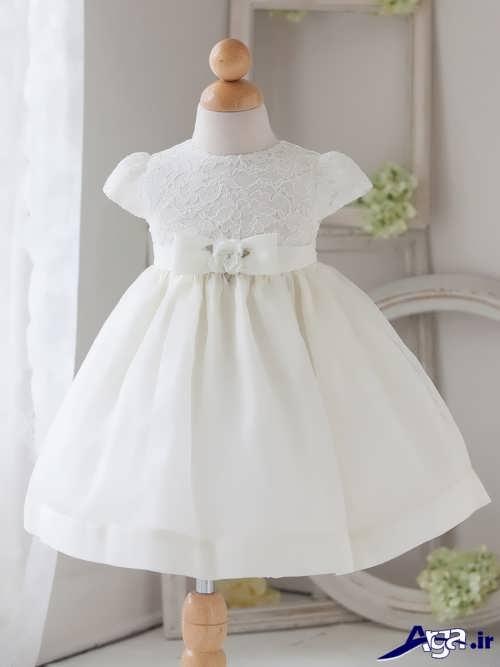 لباس عروس کوتاه و زیبا نوزادی
