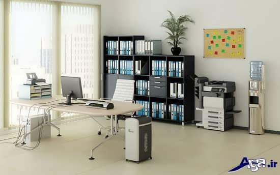 مدل اداری میز کامپیوتر