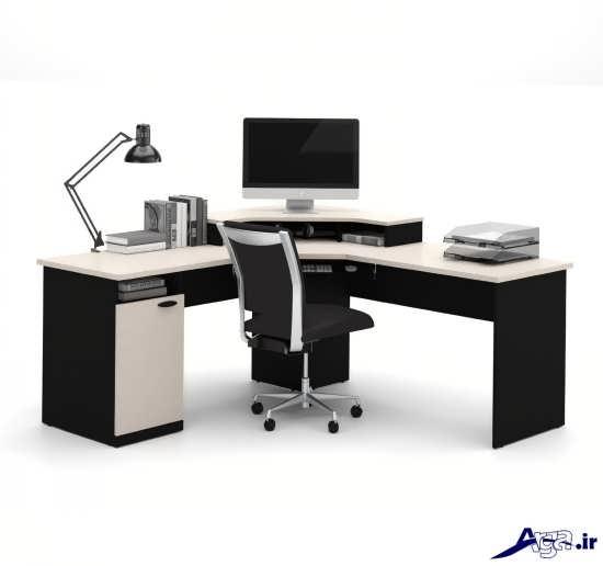 مدل میز کامپیوتر جدید و مدرن و بسیار شیک و کاربردی