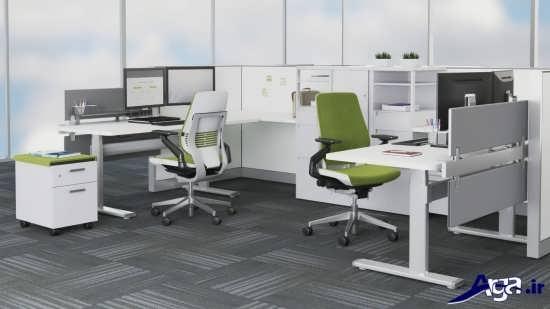 مدل میز کامپیوتردر اداره و محل کار