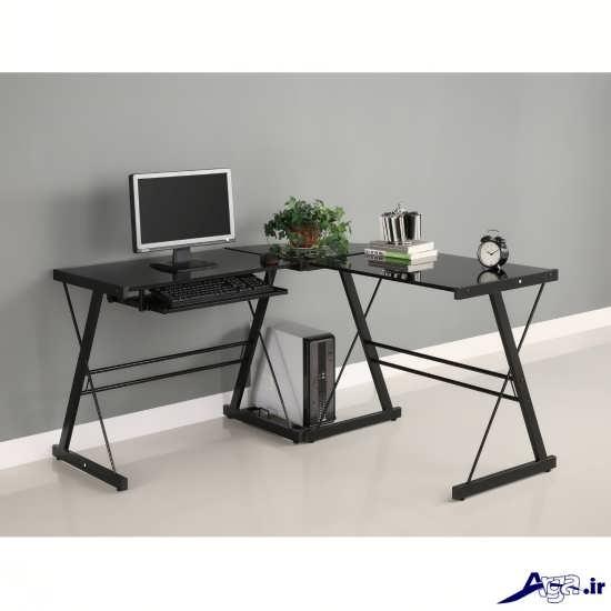 طراحی مدل میز کامپیوتر در منزل و محل کار