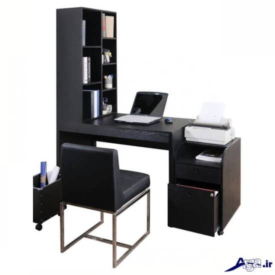 مدل میز کامپیوتر با طراحی زیبا و شیک