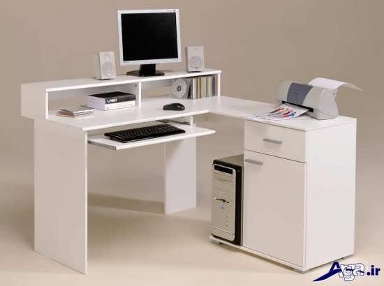 مدل میز کامپیوتر در اداره