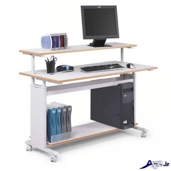 مدل ساده و پرکاربرد میز کامیوتر