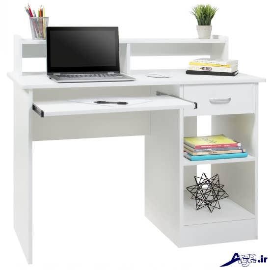 مدل ساده و شیک میز کامپیوتر