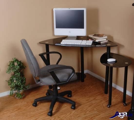 مدل میز کامپیوتر ساده