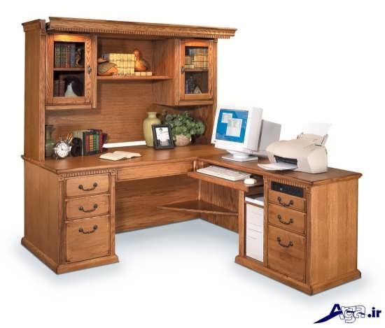 مدل میز کامپیوتر و تحریر
