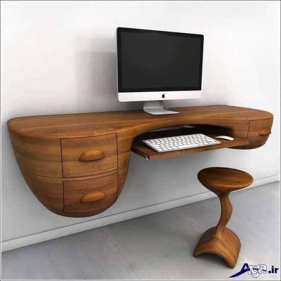 طراحی متفاوت برای میز کامپیوتر