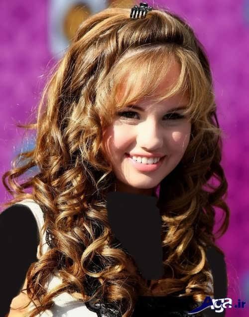 مدل موی فر دخترانه زیبا و جذاب