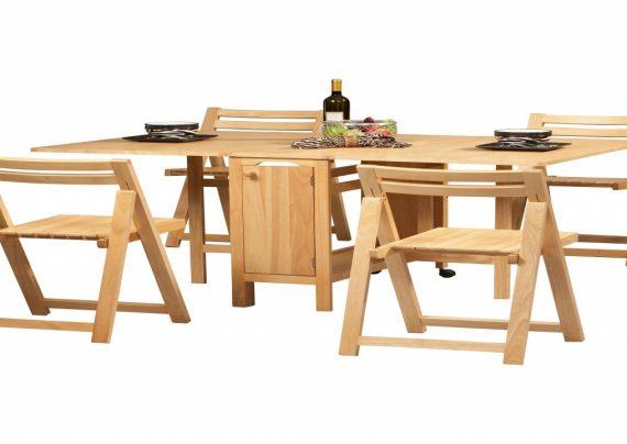 مدل میز ناهار خوری تاشو با طرح های زیبا و متفاوت