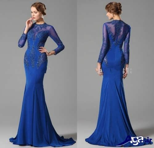مدل لباس شب پوشیده جدید و شیک با طرح های جذاب