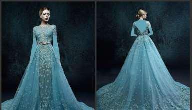 مدل لباس شب پوشیده با طرح های زیبا و شیک