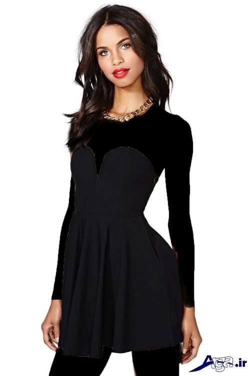 مدل پیراهن کوتاه دخترانه