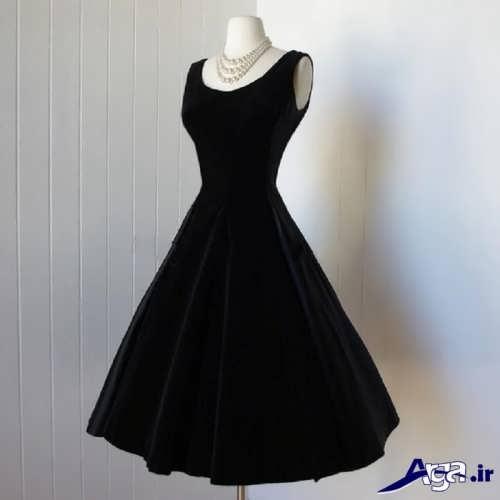 مدل لباس مخمل کوتاه دخترانه