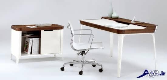 طراحی زیبا برای میز مطالعه