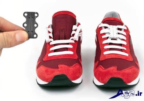 بستن بند کفش به صورت موازی و جالب