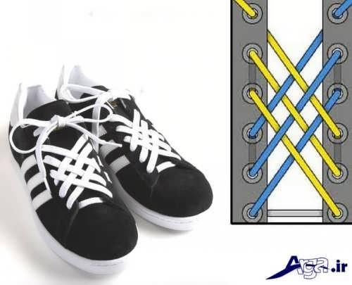 ایده های جالب برای بستن بند کفش ها