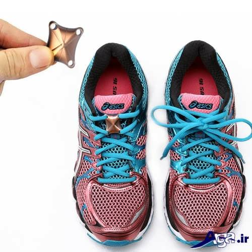 مدل زیبا و متفاوت بستن بند کفش