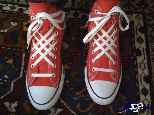 بستن بند کفش با ایده های متفاوت