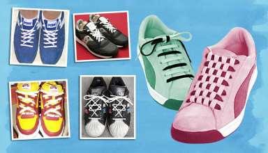مدل بستن بند کفش با کمک ایده های جالب