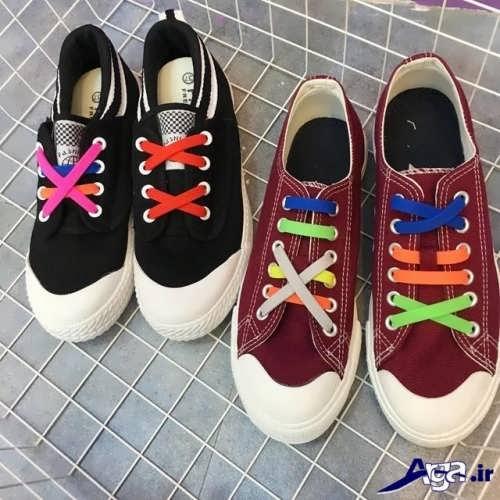 ایده های خلاقانه و جالب برای بستن بند کفش ها