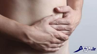 درد زیر شکم سمت چپ