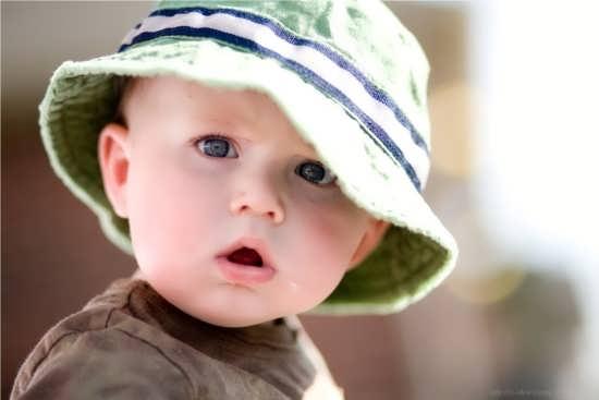 عکس نوزاد توپول برای پروفایل