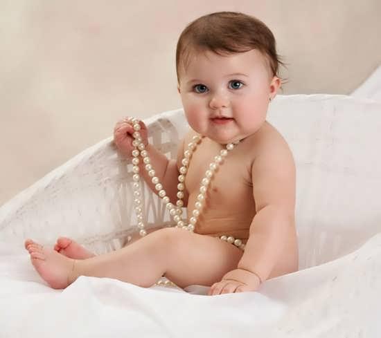 عکس وسایل نوزاد دختر