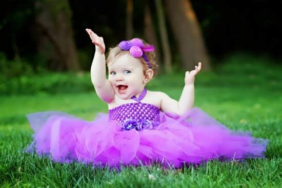 عکس نوزاد دختر