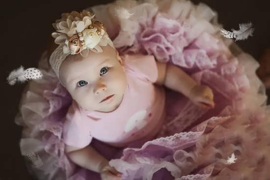 عکس کودک دختر برای پروفایل