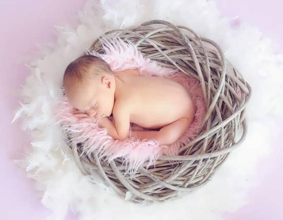 عکسی زیبا از نوزاد خواب