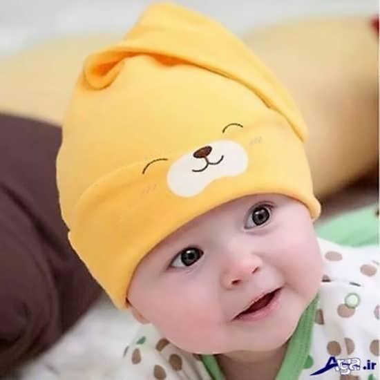 عکس نوزادان پسر در حالت های زیبا