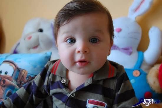 عکس نوزاد دوقلو پسر