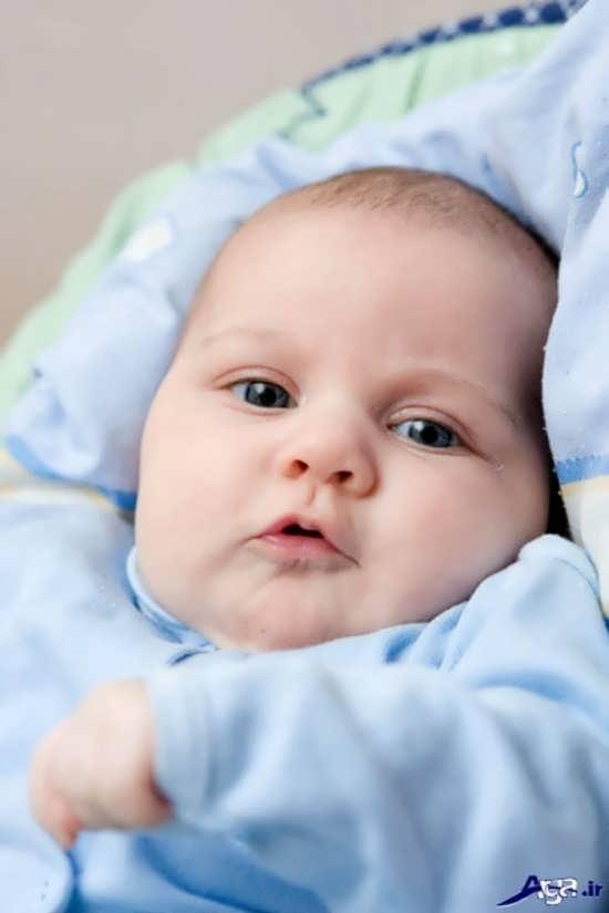 عکس نوزادان پسر بانمک