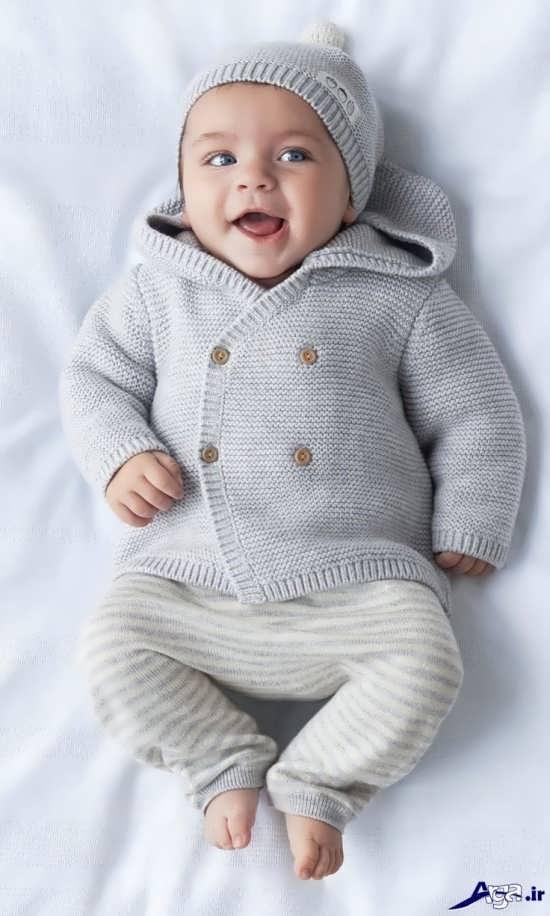 عکس نوزادان پسر بسیار شیرین و خواستنی