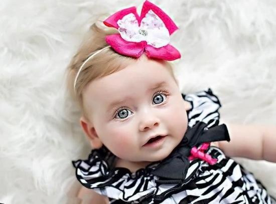 عکس نوزاد بامزه برای پروفایل