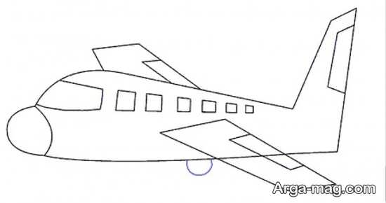 طراحی زیبای هواپیما