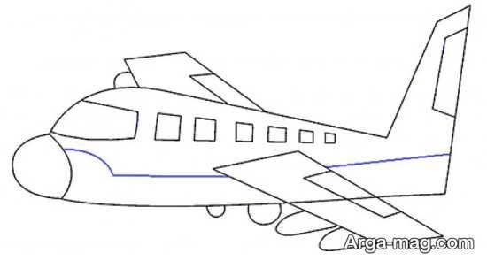 طراحی هواپیما کودکانه