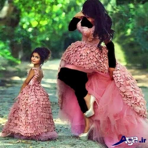 مدل لباس زیبا و شیک مادر و دختر