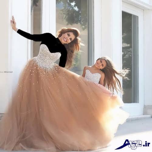 مدل لباس ست و زیبا مادر و دختر