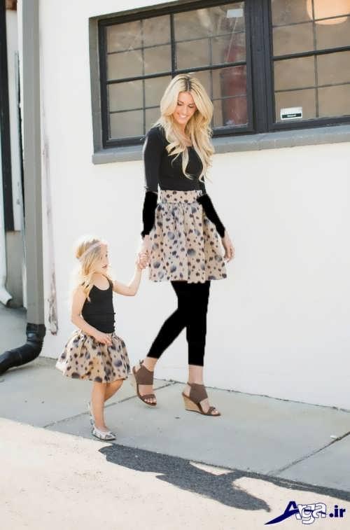 مدل لباس ست دختر و مادر
