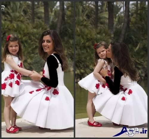 مدل لباس ست مادر و دختر جدید و زیبا
